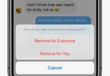 Su Messenger arriva Rimuovi per tutti per cancellare i messaggi