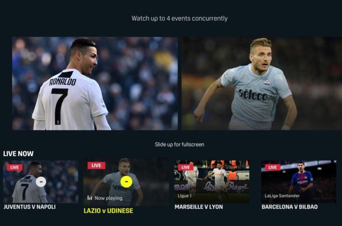 DAZN porta su Apple TV la funzione MultiView