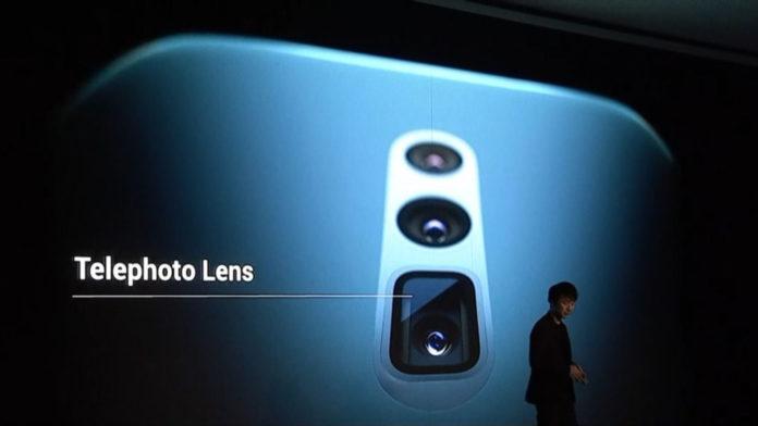 Al MWC 2019 Oppo presenta lo smartphone con zoom 10x ottico