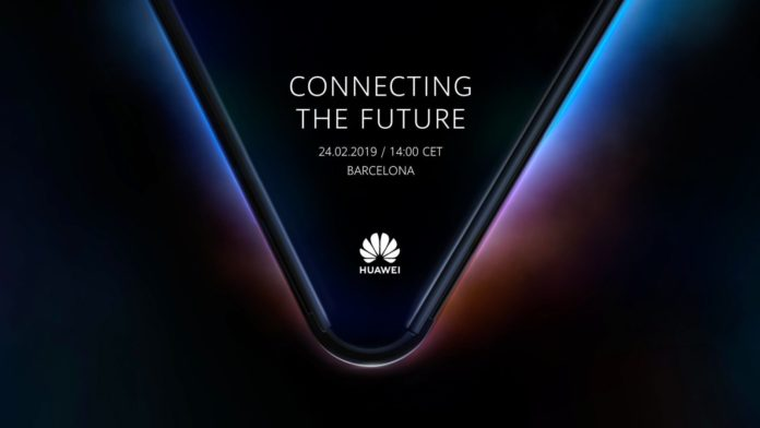 Lo smartphone pieghevole Huawei sarà presentato il 24 febbraio