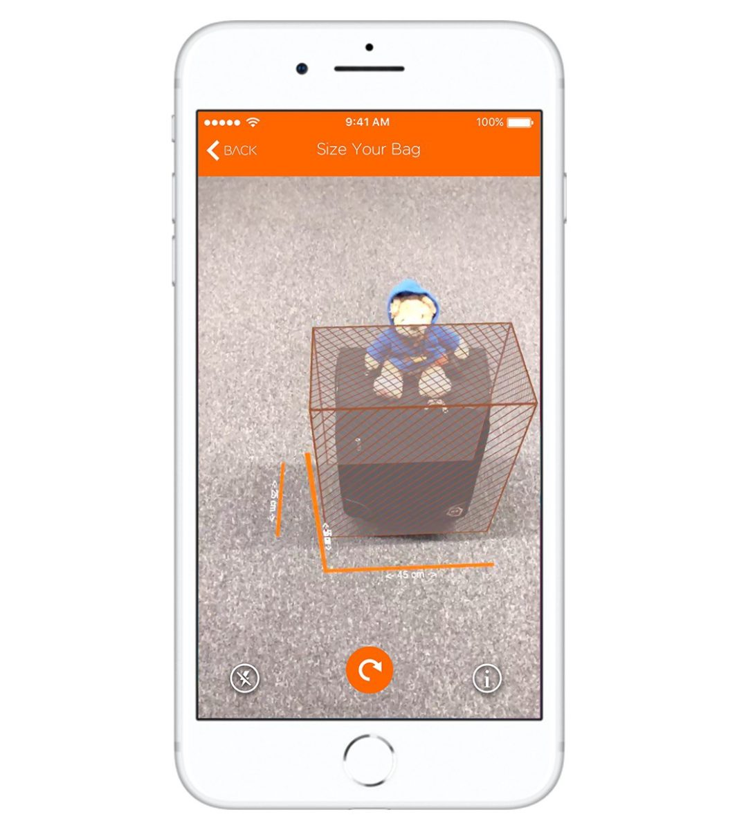 easyJet, evita le batoste per la valigia fuori misura con la realtà aumentata solo su iPhone