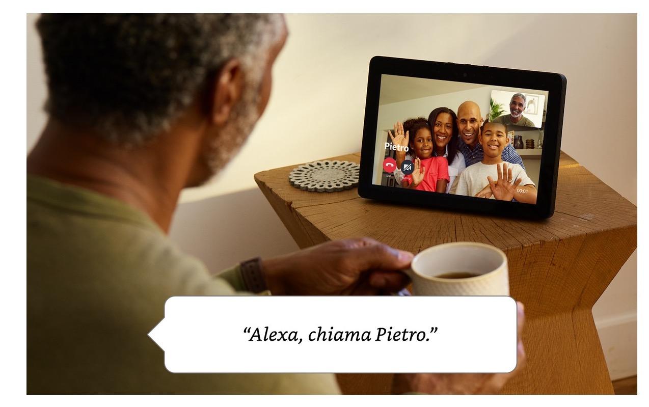 Echo Show Disponibile in Italia: Amazon Alexa risponde sul grande schermo
