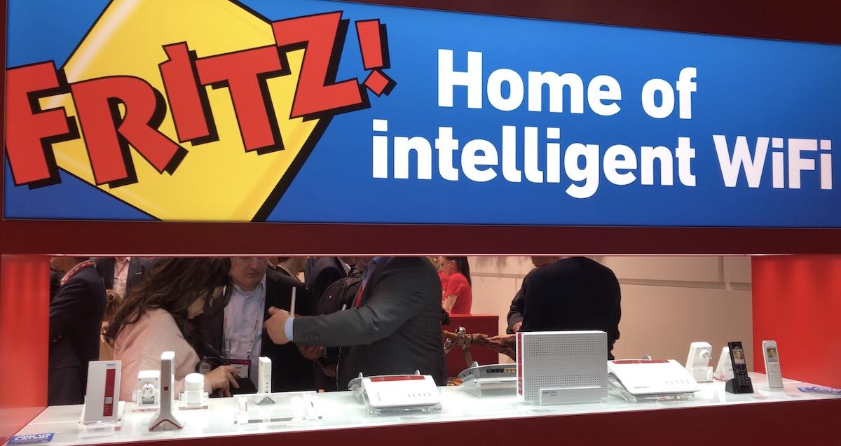 AVM, FRITZ!Repeater per WiFi Mesh e FRITZ!Box per connessioni internet gigabit
