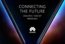 In foto Huawei Mate X, lo smartphone pieghevole che sarà svelato al MWC 2019