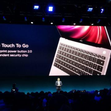 Al MWC 2019 il nuovo Huawei Matebook X Pro, velocissimo e piu sottile di un Macbook Pro