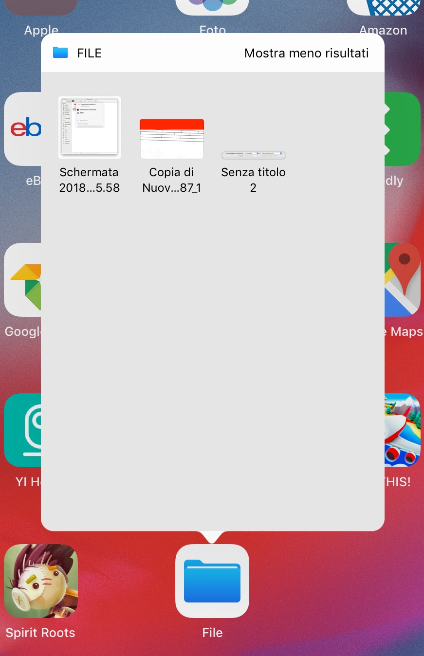 Come guardare file iOS recenti dalla Home Screen su iPhone e iPad