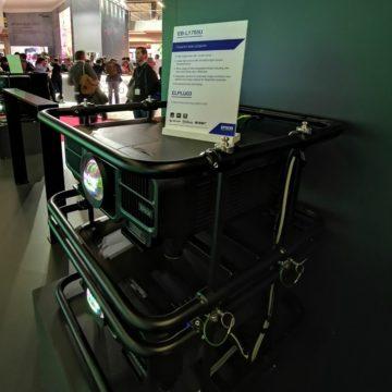 Epson presenta a ISE Amsterdam nuovi proiettori laser fino a 30.000 lumen