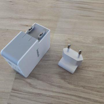 Recensione carica batteria Inateck USB-C da 45 W, costa poco ed è funzionale