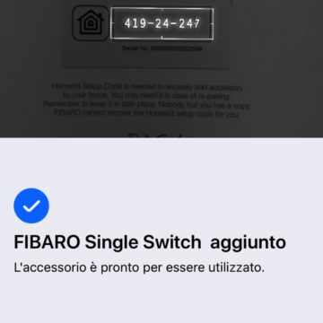 Recensione Fibaro Switch per Home Kit: rende smart qualsiasi interruttore