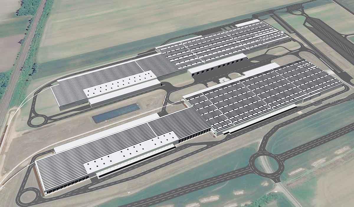 Audi Ungheria più grande impianto fotovoltaico a tetto Europa