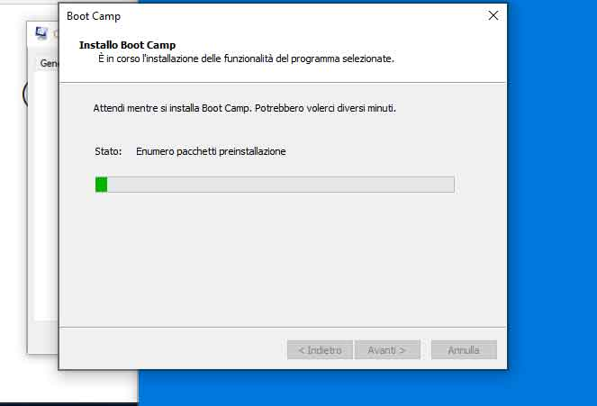 Installare Windows 10 sul Mac con Boot Camp