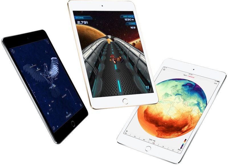 Nuovi iPad attesi per metà 2019, anche iPad mini 5