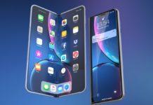 iPhone X pieghevole, nel concept la possibile risposta a Galaxy Fold
