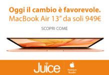 Juice supervaluta Mac e iPad usati per comprare i nuovi risparmiando