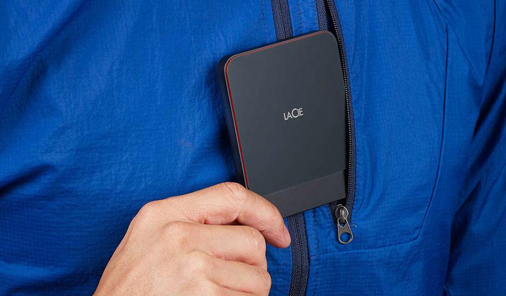 Recensione LaCie Portable SSD, velocità in abito da sera