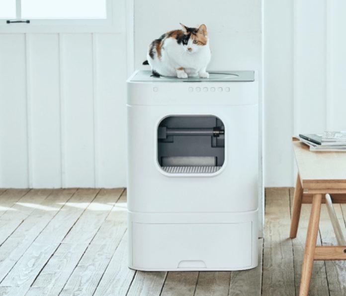 LavvieBot, la lettiera Smart per gatti al MWC 2019