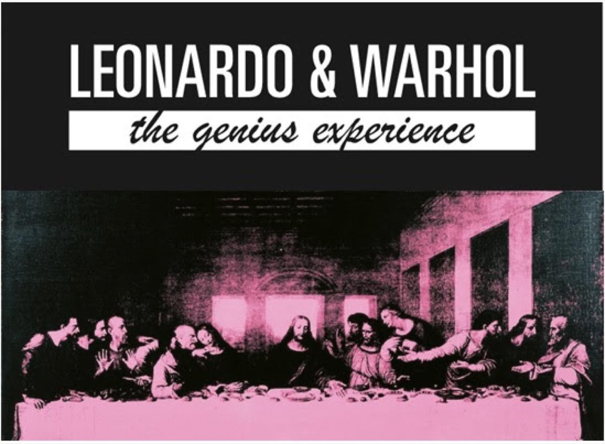 """Nella mostra """"Leonardo & Warhol in Milano"""" c'è anche Canon"""