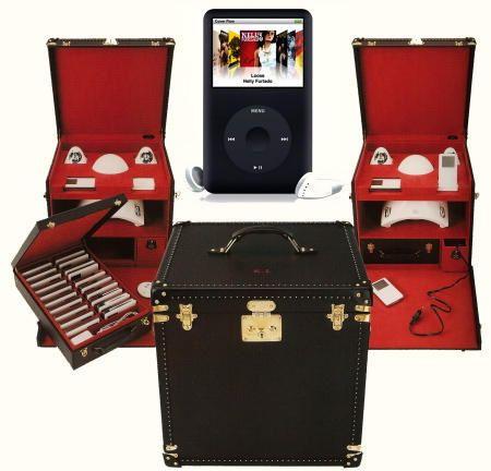 Per Louis Vuitton aveva ideato una borsa per il trasporto di venti iPod, caricabatterie, subwoofer e altoparlanti di JBL: un accessorio da