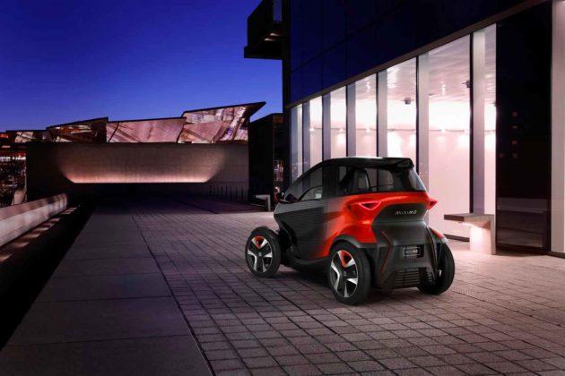 Minimó è la concept-car di SEAT che combina auto e moto