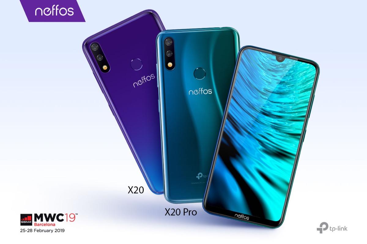 Neffos X20, lo smartphone con schermo 19:9 e fotocamera intelligente