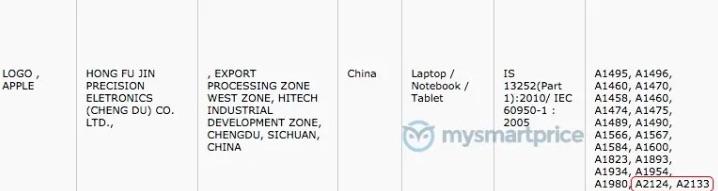 iPad 2019 e iPad Mini appaiono nei database indiani