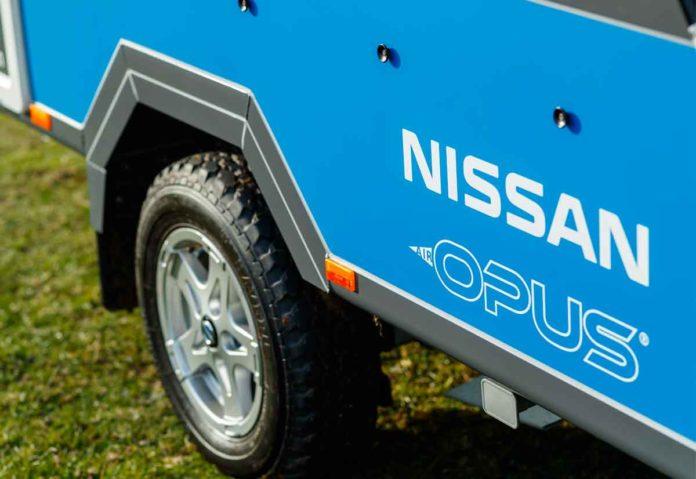 Un concept camper di Nissan con batterie di seconda vita