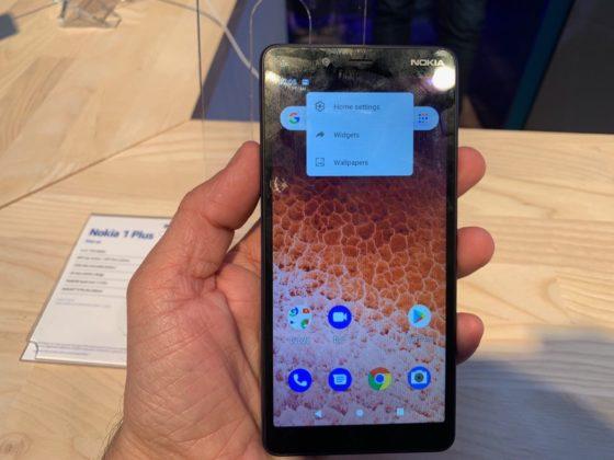 Nokia 1 Plus, al MWC 2019 l'entry level con Android 9 Go