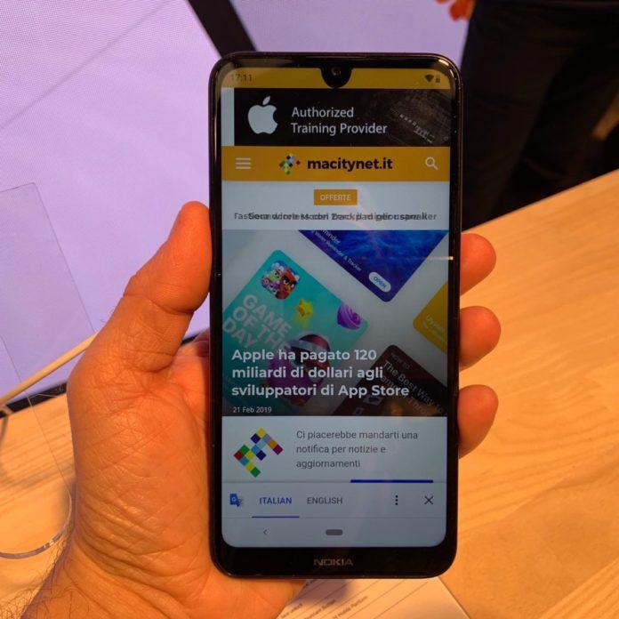 Nokia 3.2, al MWC 2019 lo smartphone con due giorni di autonomia