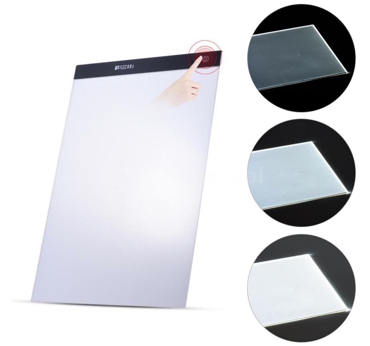 O4P4, la tavoletta luminosa per ricalcare i disegni