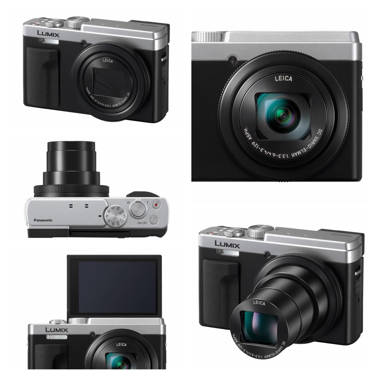 Potenza Lumix TZ95, fotocamera da viaggio per ricordi in 4K