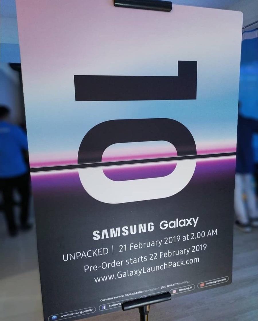 Galaxy S10, due foto anticipano sensore impronte nel display e inizio preordini