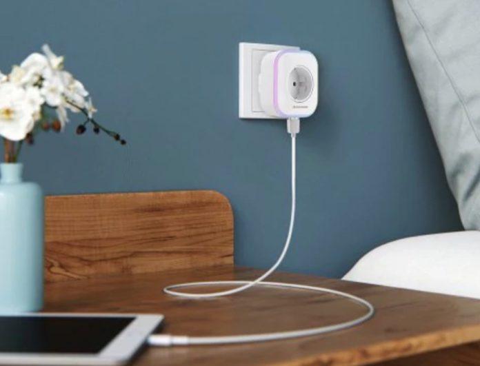Alfawise SA0X Mini, presa Smart con USB, compatibile Alexa e Google Home