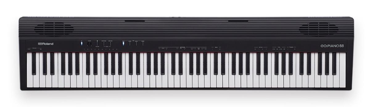Roland go piano88 il pianoforte digitale a batterie per for Cuffie antirumore per studiare