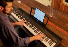 Roland GO:PIANO88, il pianoforte digitale a batterie per studiare con l'iPad