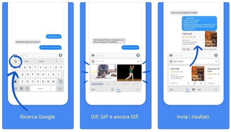Gboard per iOS colma una lacuna importante e supporta adesso il feedback aptico