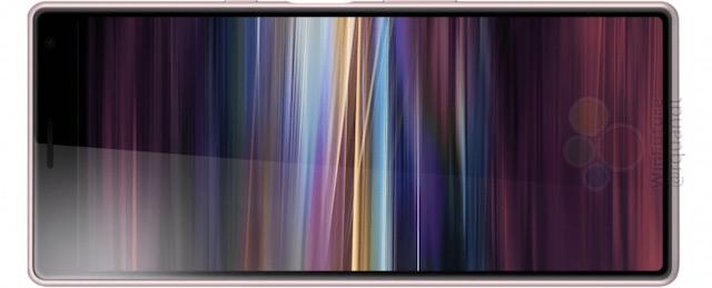 Sony Xperia XA3, ecco lo smartphone senza notch e con display 21: 9