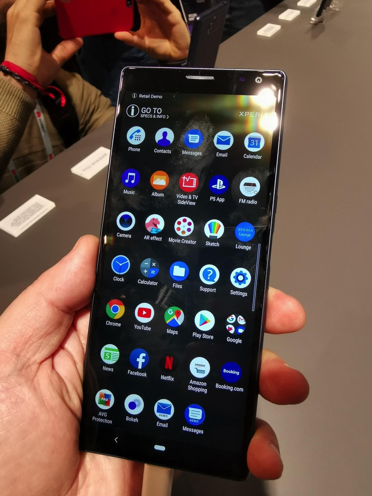 Sony Xperia 10 e 10 Plus, i medio gamma con schermo da cinema al MWC 2019