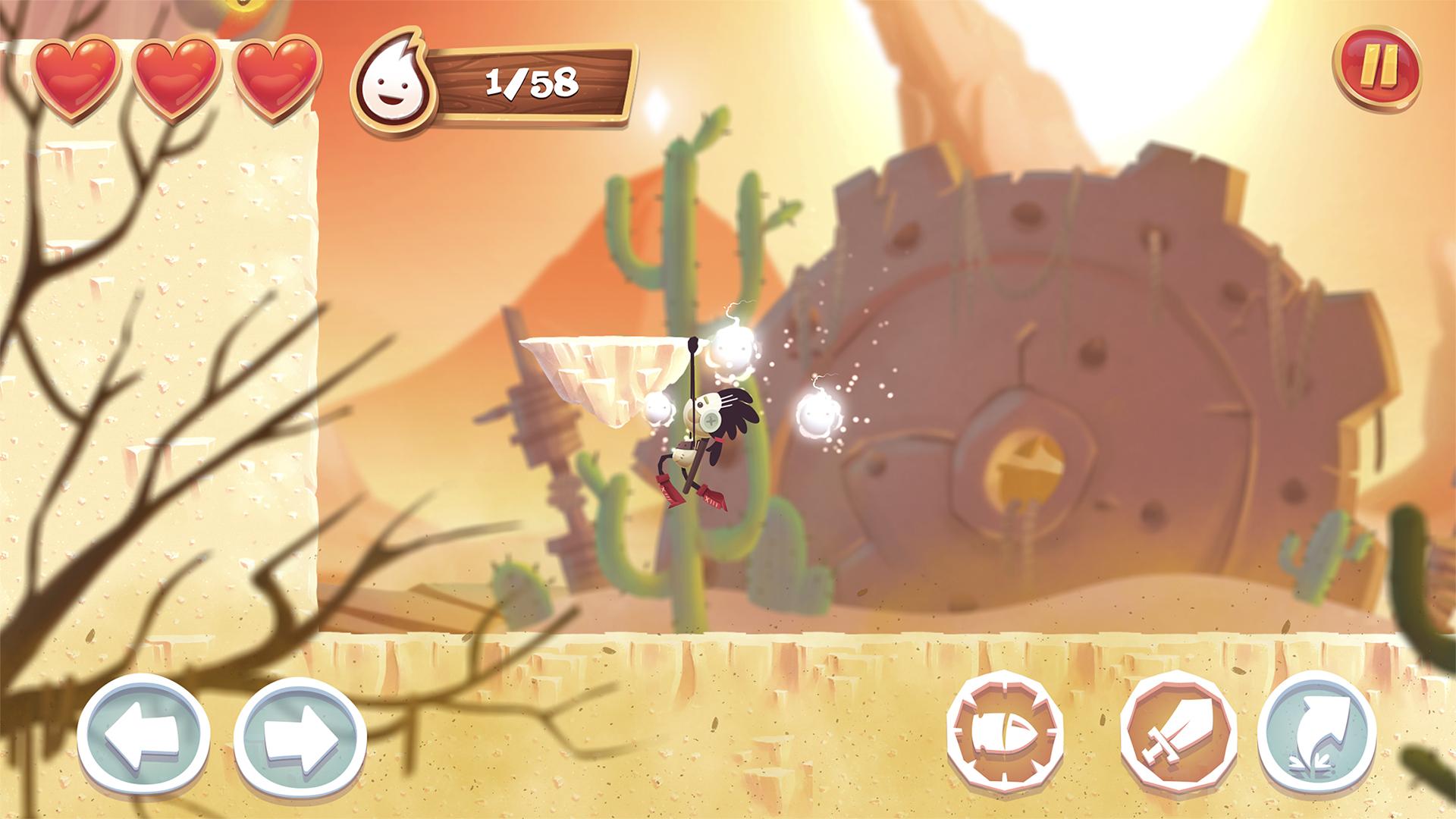 Spirit Roots, il platofm bidimensionale che prova a stupire su iOS