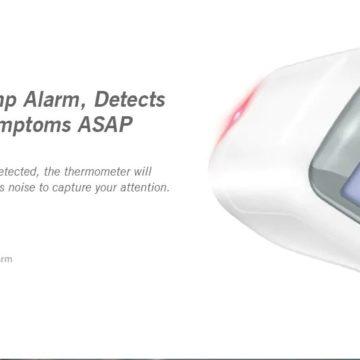Alfawise T1803, il termometro ad infrarossi contactless in offerta lampo