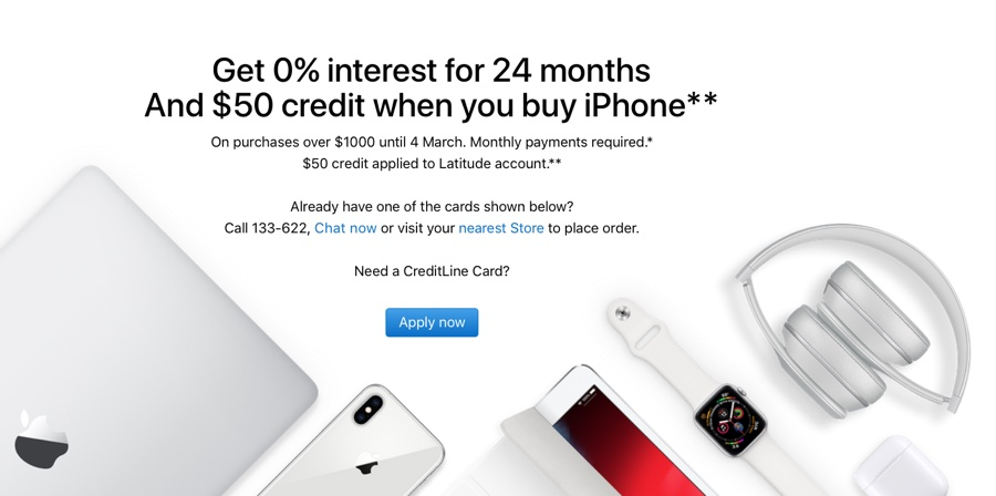 Apple lancia la tripla promozione iPhone in Australia