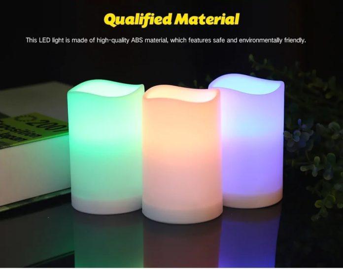 3 candele LED Utorch da decorazione con radiocomando a soli 6 euro