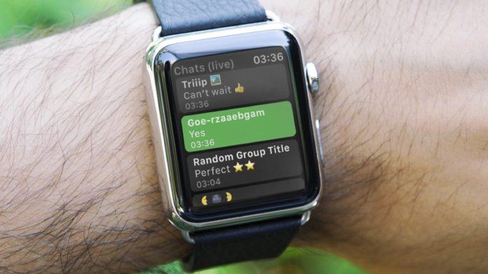 Whatsapp per Apple Watch diventa possibile grazie a WatchChat