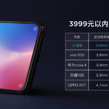 Svelato Xiaomi Mi 9 con tre fotocamere sul retro