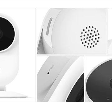 Xiaomi Mijia SXJ02ZM, la videocamera di sorveglianza per la casa a soli 19 €