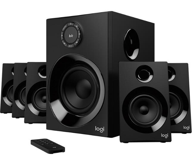 Logitech lancia il sistema surround 5.1 Z606 con altoparlanti Bluetooth