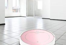 Ilife V7s Plus, in offerta l'aspirapolvere smart oro rosa