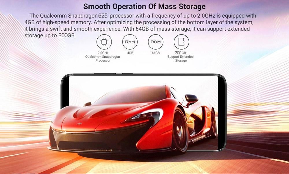 Nubia V18, il medio gamma più economico con Snapdragon