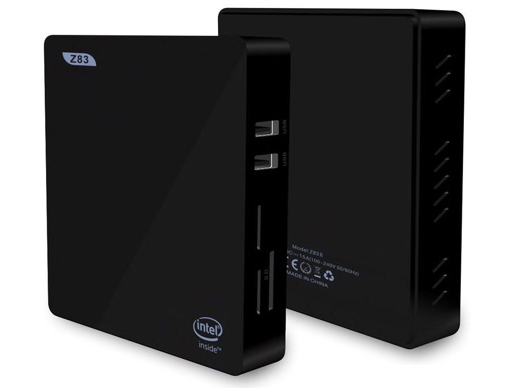 Il mini PC Windows Z83II in sconto flash a 80 euro
