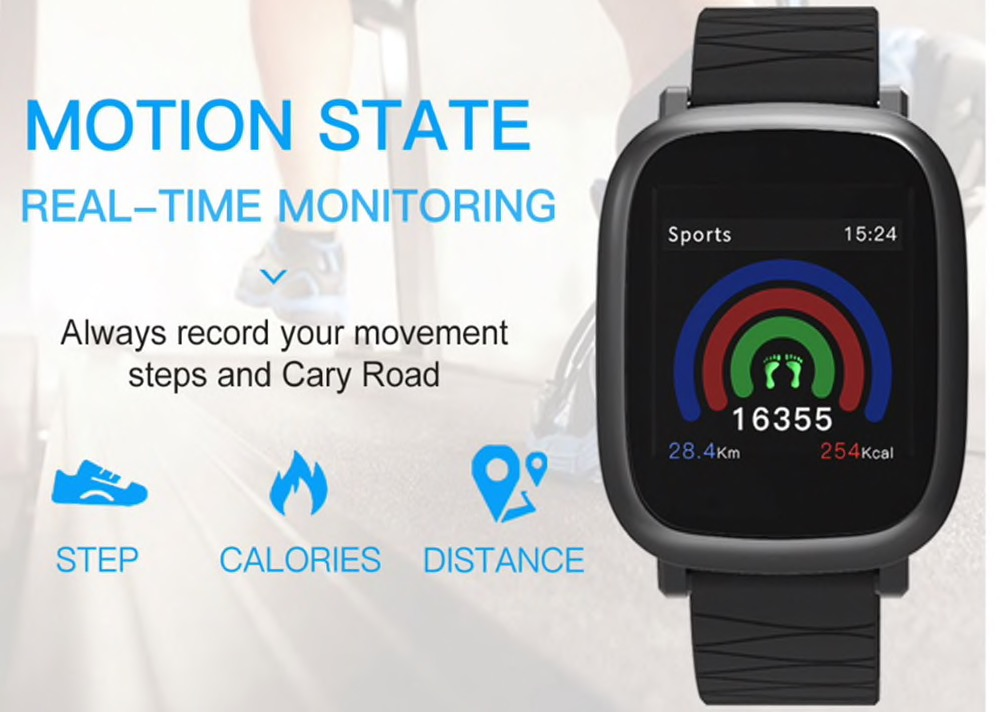 Solo 13 euro per il bracciale smart M30, un mix tra Apple Watch e AmazFit Bip