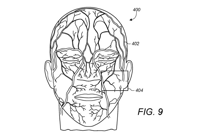Immagine dal brevetto di Apple